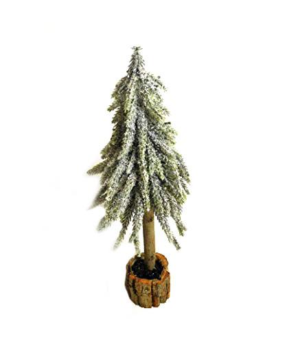 Baum Tanne Tannenbaum Schnee beschneit Kunstpflanze Kunst Pflanze Deko Dekobaum Baum Kunstbaum Tischdeko Weihnachten Weihnachtsdeko künstlich unecht grün weiß 33 cm 778680 F85 (klein)