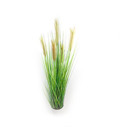 Gras Grasbusch Gras Schilf Kunstpflanze Dekopflanze H 140 cm getopft 56346-3 F28