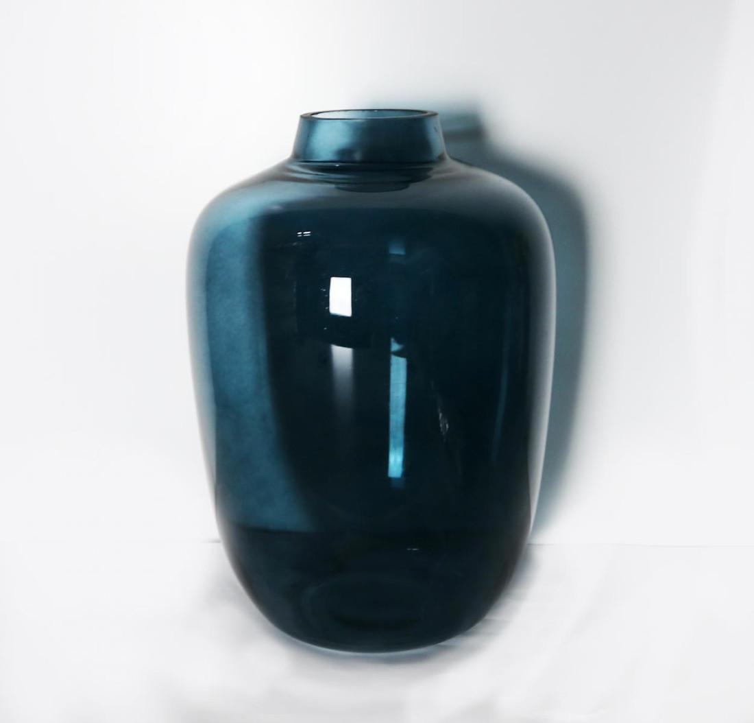 Ballonvase - Blau