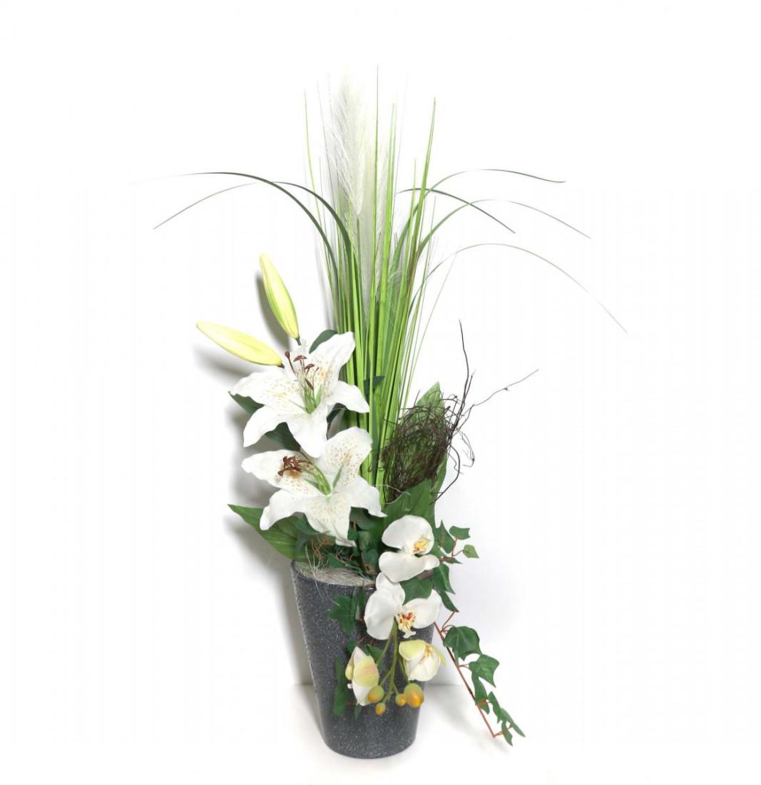Lilie Orchidee Weiß 143 PM-0057