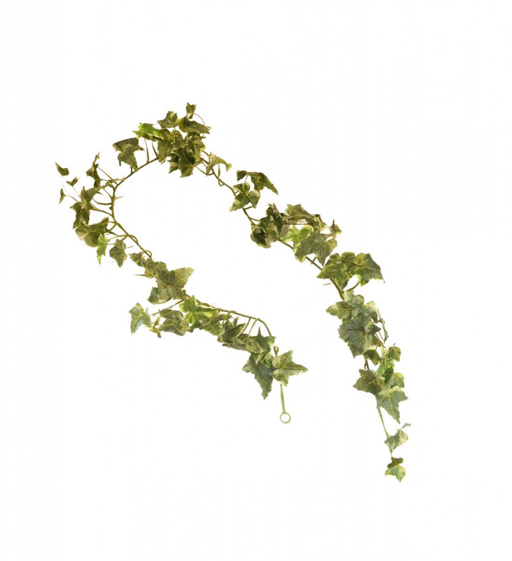 künstliche Efeugirlande Girlande Efeu Ranke Kunstpflanze 180 cm 185667 F41