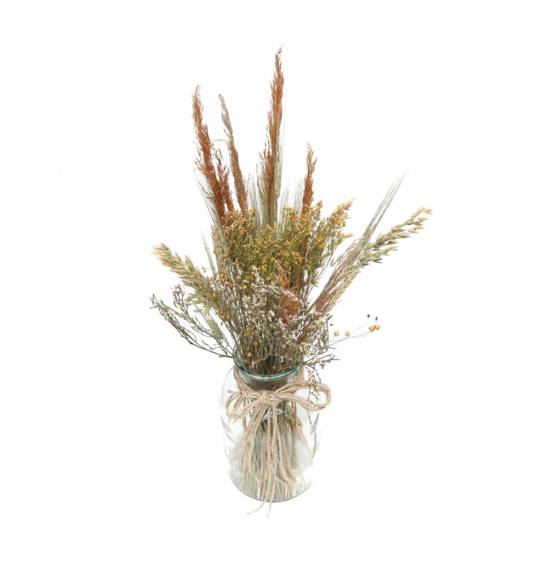 DIY Trockenblumen Set Natural   Getrocknete Blumen   Basteln Dekoblüten Tischdeko Geschenkidee Natürlich Boho Trockenblumenset  
