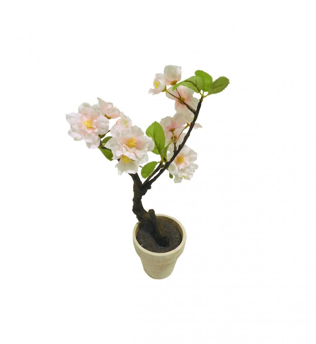Kirschblütenbaum Kirschblüten Kunstpflanze Dekopflanze 30 cm rosa N-91239-7 F61
