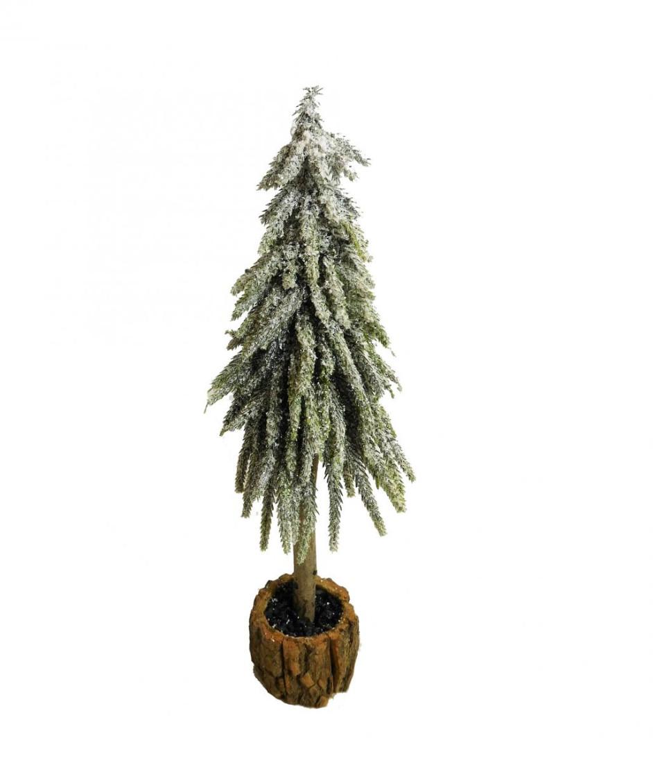 Tanne Tannenbaum Schnee beschneit Kunstpflanze Kunst Pflanze Deko Dekobaum Baum Kunstbaum Tischdeko Weihnachten Weihnachtsdeko künstlich unecht grün weiß 37 cm 778681 F86 (groß)