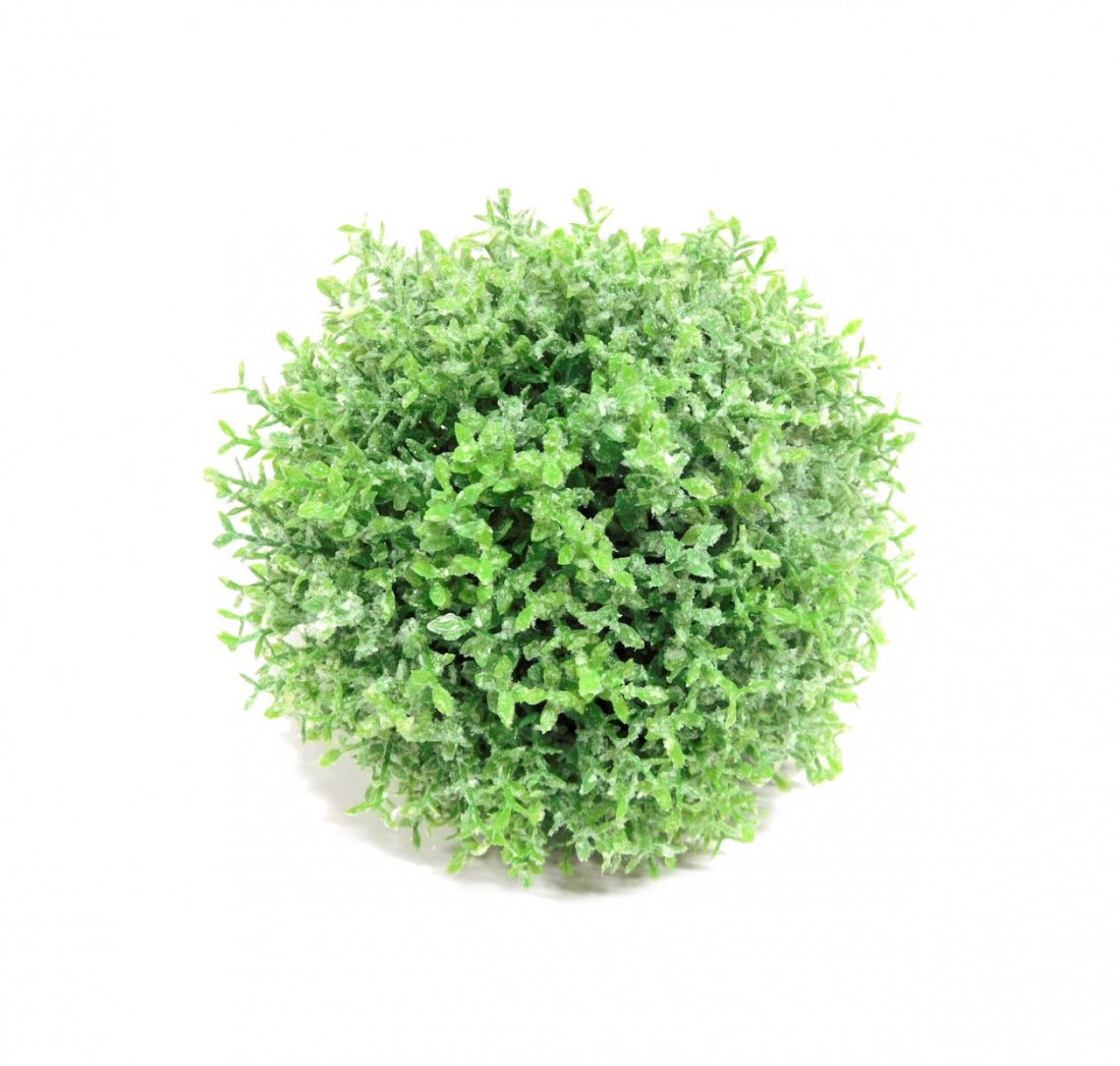 Thymiankugel Graskugel Gras Kugel Kunstpflanze künstlich 16 cm 305636-50 F53