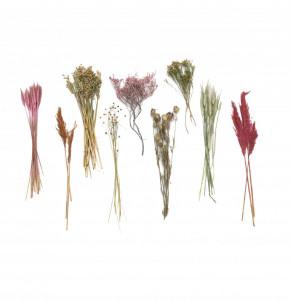 DIY Trockenblumen Set Pink | Getrocknete Blumen | Basteln Dekoblüten Tischdeko Geschenkidee Natürlich Boho Trockenblumenset |