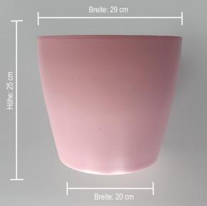Topf aus Keramik-Rosa