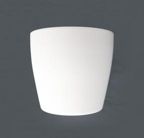 Topf aus Keramik-Weiss